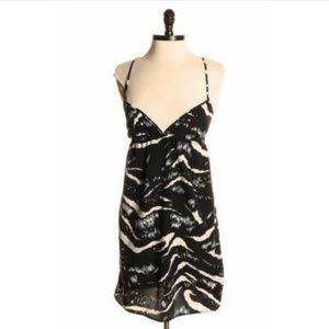 Lux by Urban Outfitters Zebra Print Dress